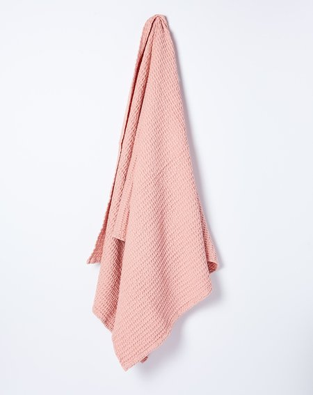 Hawkins New York Simple Waffle Bath Towel - Blush