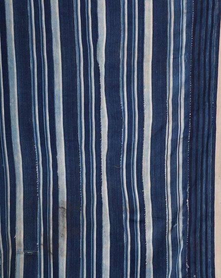 Covet + Lou Vintage Striped Dyed Textile - Indigo