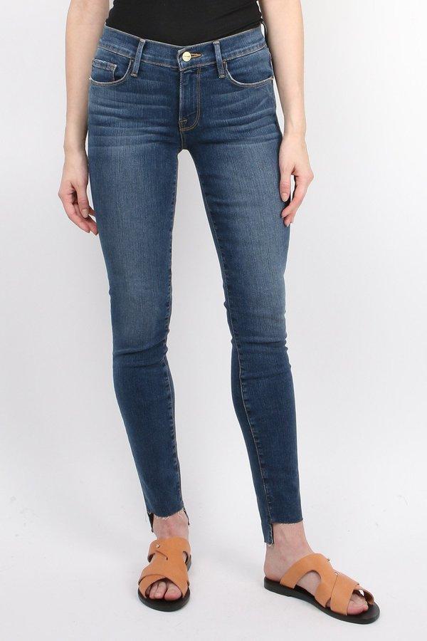 FRAME Denim Le Skinny De Jeanne - Woodbine   Garmentory