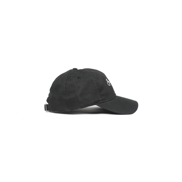 Stampd Script Dad Hat - Black  c97e154cd78