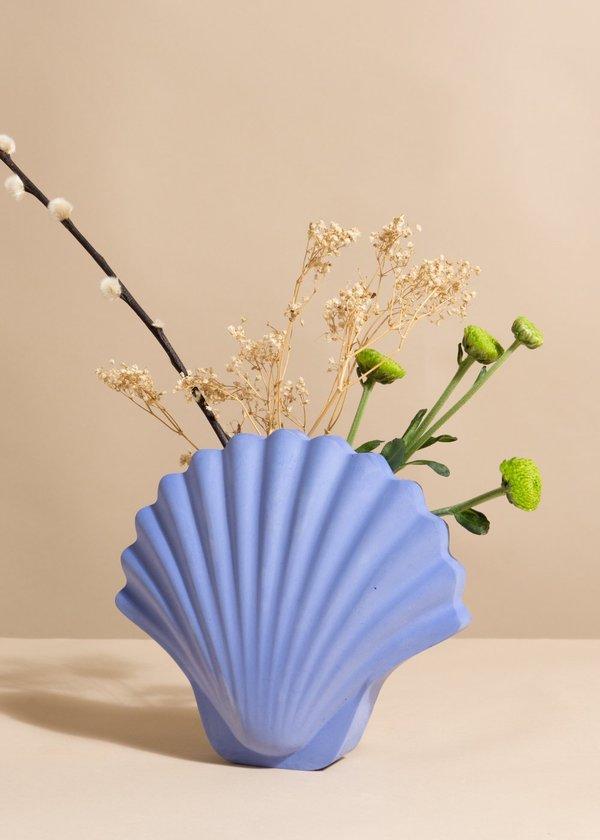 Los Objetos Decorativos Seashell Vase Garmentory