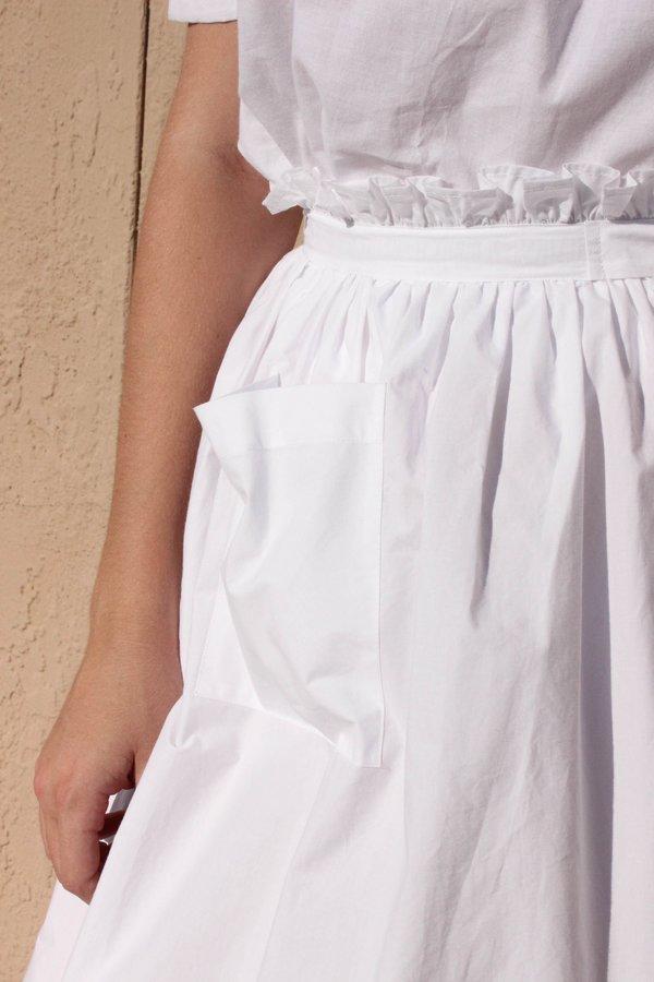 Wray Town Skirt - White