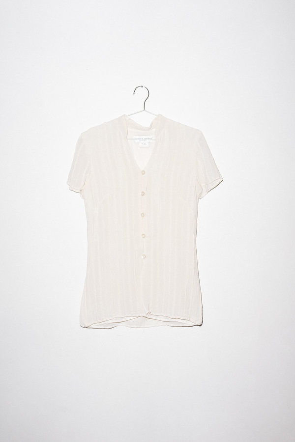 Vintage Button Up - Off White