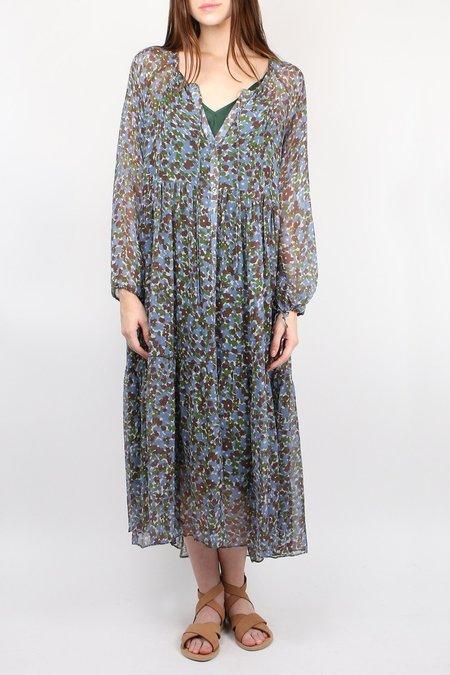 Lee Mathews Palmer Raglan Dress - Juniper