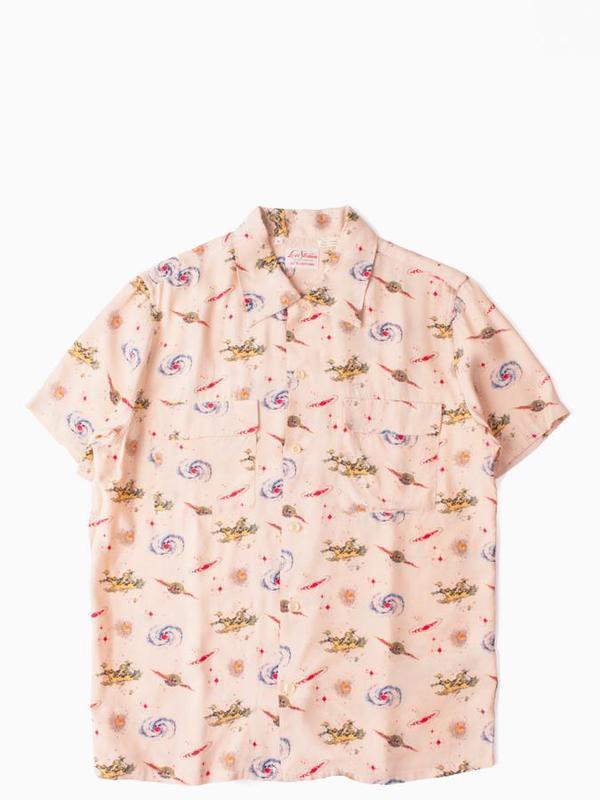 9fce1de2 Levi's Vintage Clothing 1940's Hawaiian Shirt - Universe Beige ...