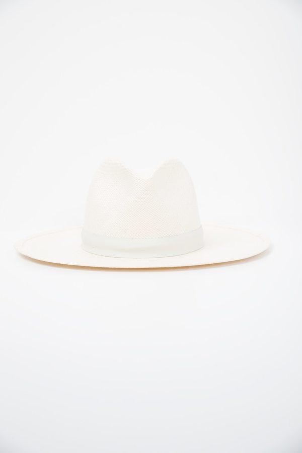 Janessa Leone Aisley Hat in White  eda0a6131b5