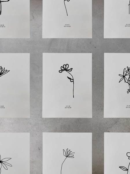Aandersson Flower Print - One of a Kind