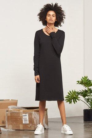 Kowtow Building Block Long Sleeve Dress