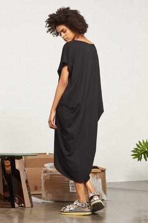 Kowtow Building Block Drape Dress
