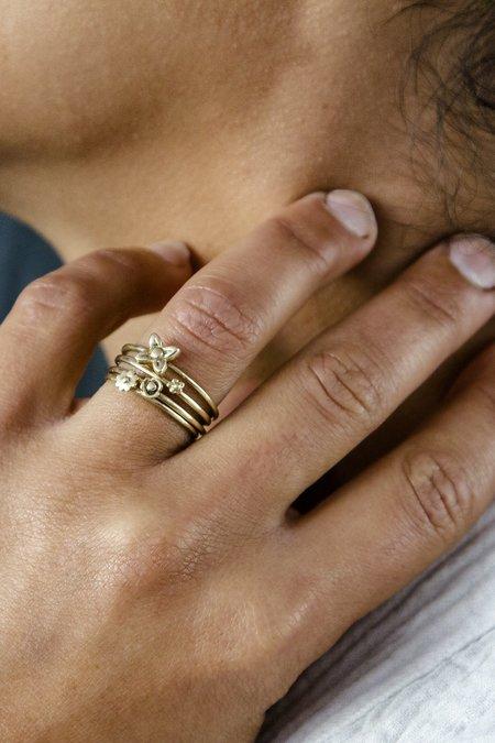 Melissa Easton Tiny Flower Rings