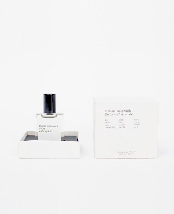 Maison Louis Marie Perfume Oil - No. 3/L'Etang Noir