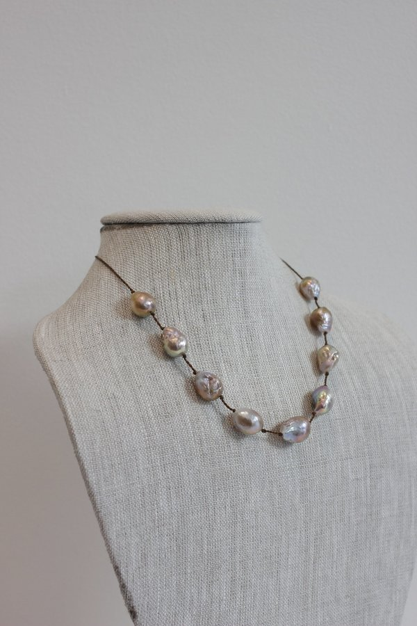 Lena Skadegard Floating Pearl necklace fc1066