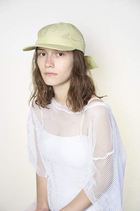 Clyde Tie Baseball Cap - Light Olive