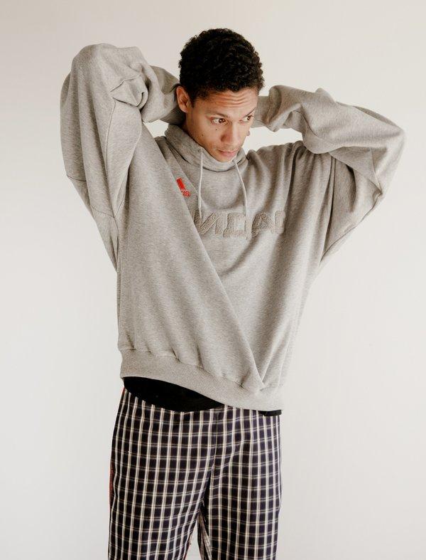 incidente Berenjena Cuando  Gosha Rubchinskiy Adidas Sweat Top - Grey Melange | Garmentory