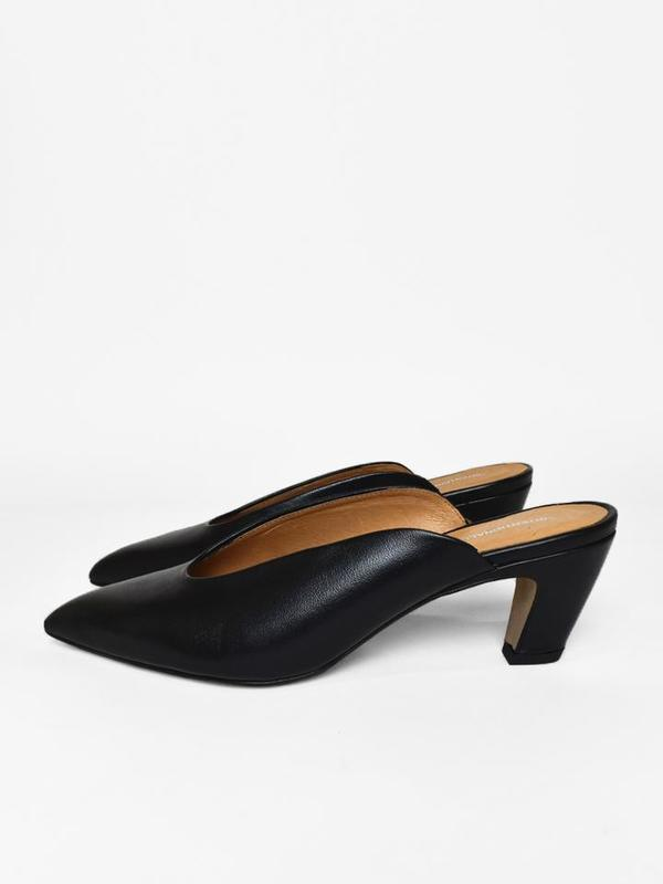 Intentionally BlankPER - Heeled mules - black 3qBYCR29