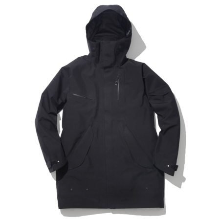 Unisex Goldwin Gore-Tex Hooded Coat - Black
