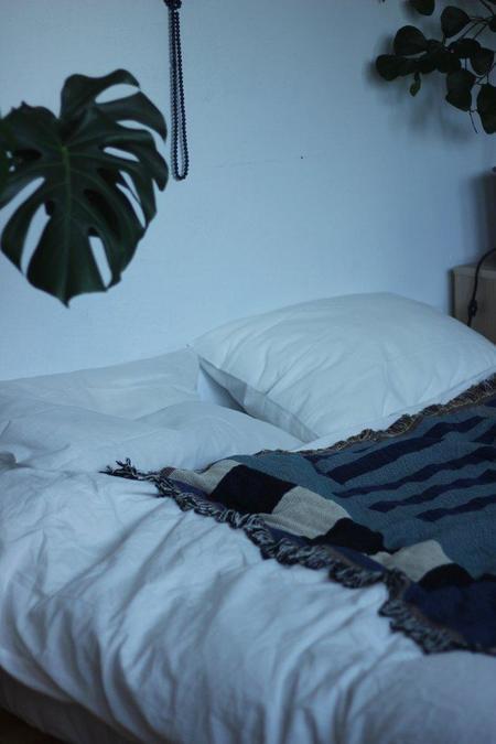 Hannah Ruth Levi Ladder Throw Blanket