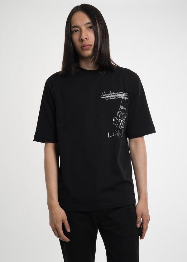 98f6275c293c01 Helmut Lang Puppy T-Shirt - Black
