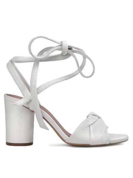 Hudson Figi Tie Strap Heel Sandal - White