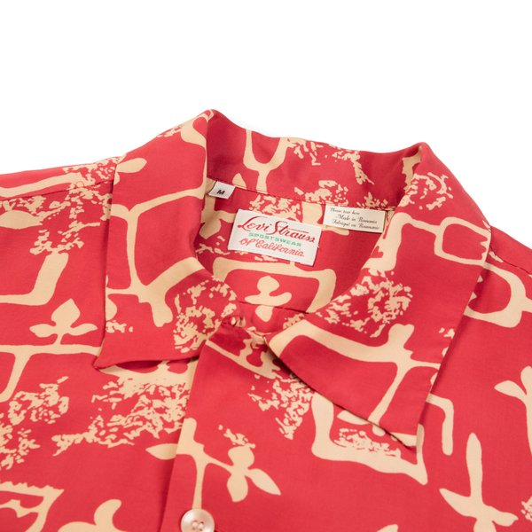 c26f8826 Levi's Vintage Clothing LVC 1940's Hawaiian Shirt - Lark Baked Apple ...