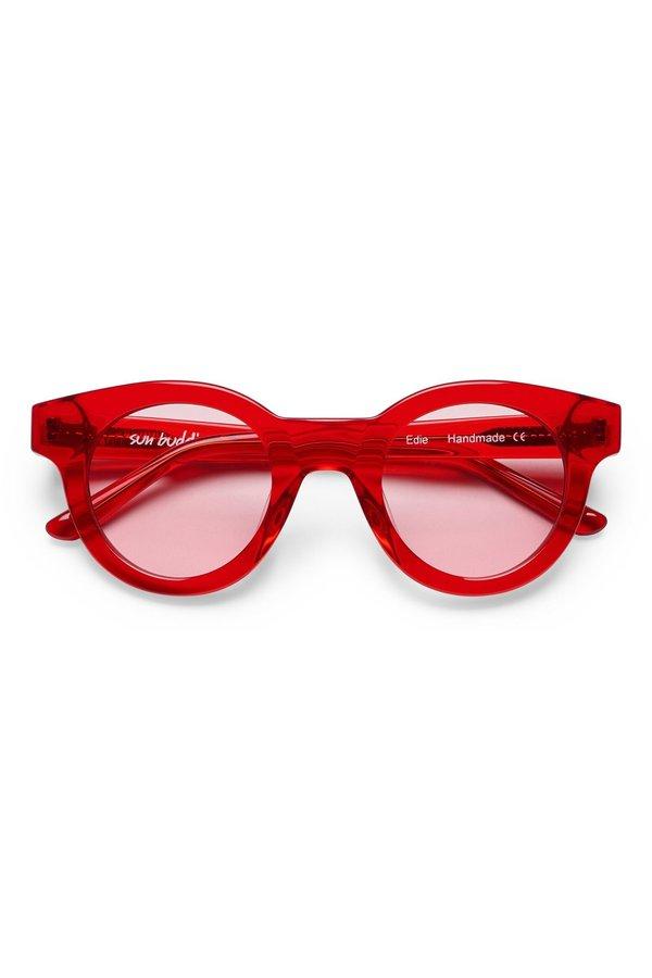Sun Buddies Edie - Transparent Red