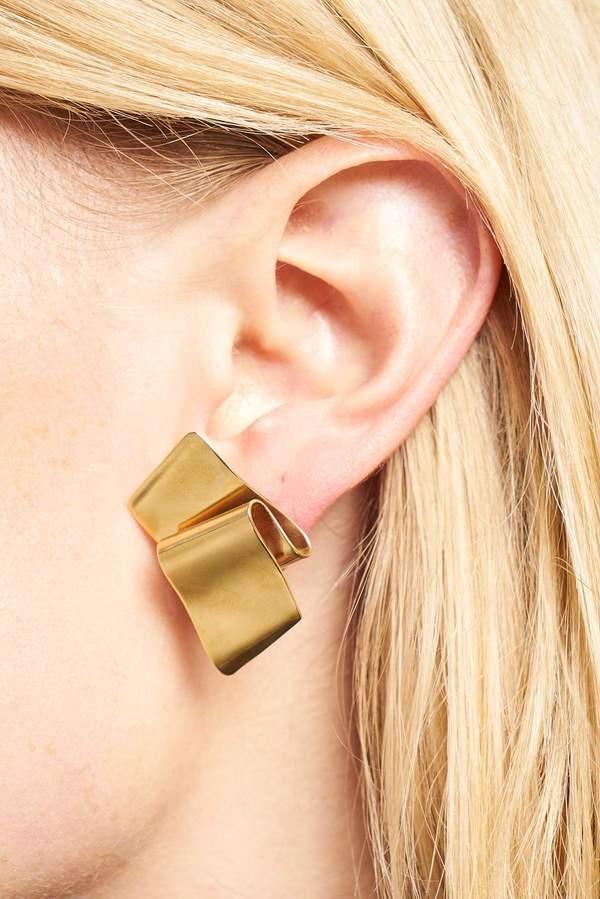 Castlecliff Fold Stud Earring