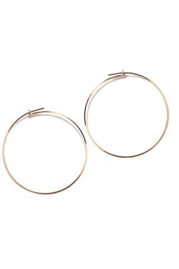 ae1a89291cc4d Annika Inez Large Thin Wire Hoop Earrings
