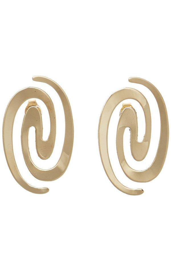 Castlecliff Maze Stud Earring