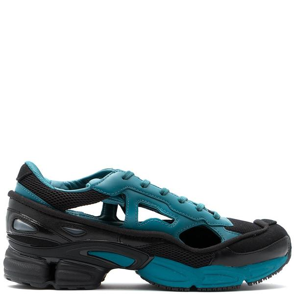 d7b2af2a8a21cd Adidas By Raf Simons Replicant Ozweego Core Black - Colonial Blue ...