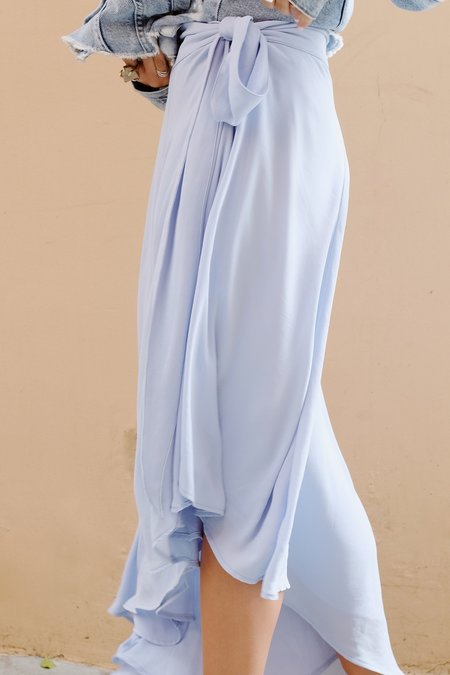 Between Ten Genevieve Skirt - Sky Blue