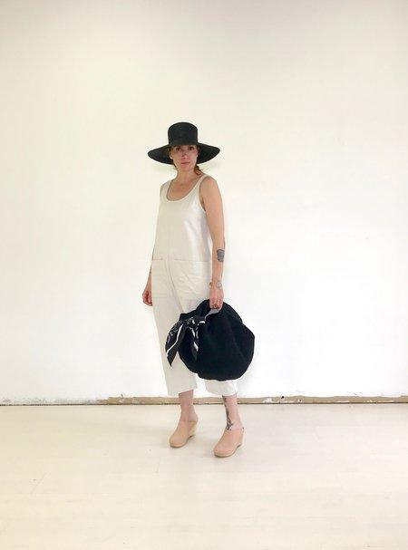 Lauren Manoogian Crochet bowl bag in Black