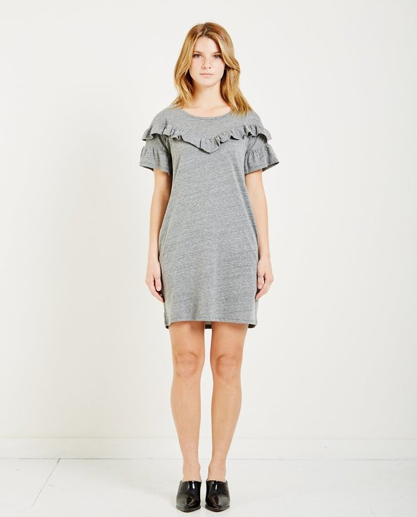 35ef2948d1 Paige ADALIE DRESS - HEATHER GREY