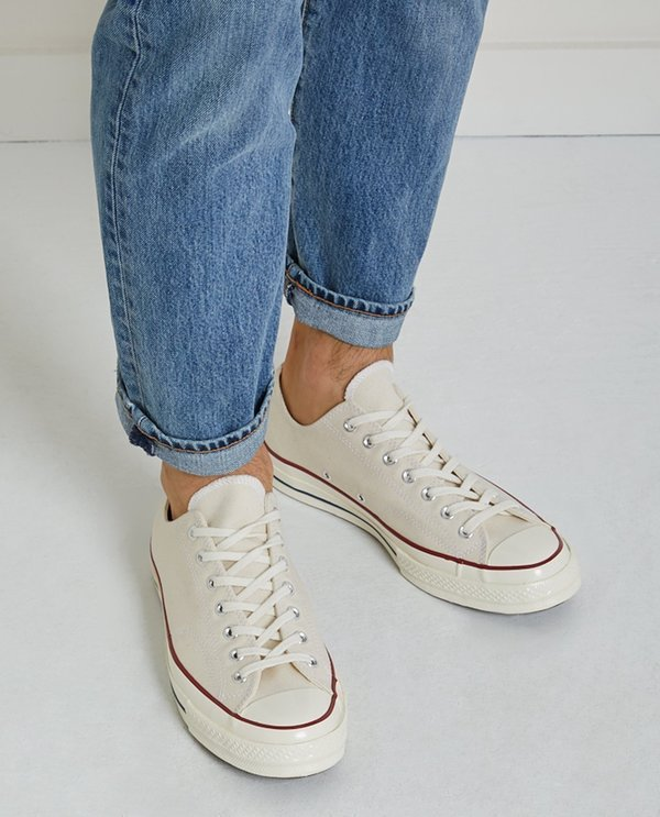 63e33696a08911 UNISEX Converse CHUCK TAYLOR ALL STAR  70 LOW TOP - PARCHMENT ...