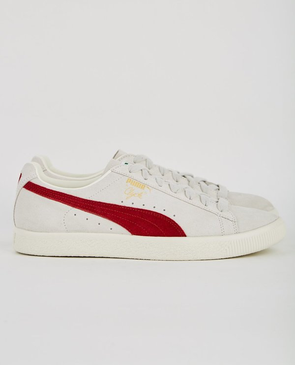 best website d134b e4bc6 Puma CLYDE FROM THE ARCHIVE - GREY & RED on Garmentory