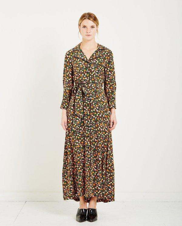 9ba221f9 Ganni JOYCEDALE FLORAL SHIRT DRESS - MULTI   Garmentory