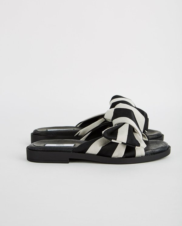 b6cb76c3ebef Miista VALERIE KNOT SANDAL - BLACK STRIPE. sold out. Miista · Shoes