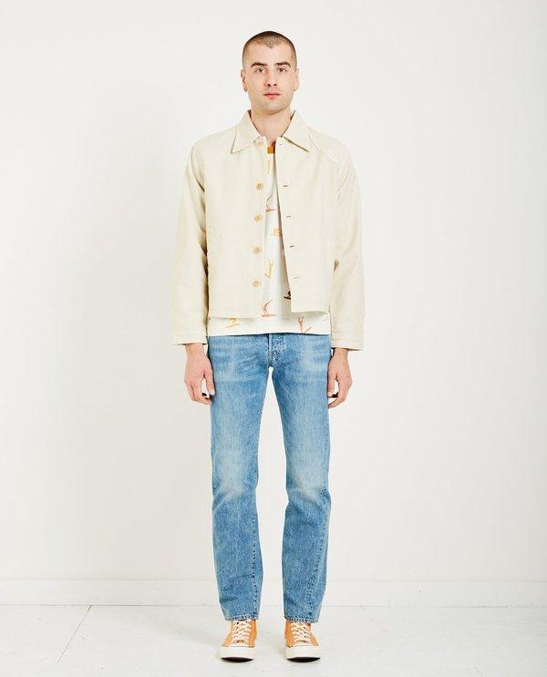 e1701beb8cf Levi's Vintage Clothing WIND REPELLENT JACKET - FOG WHITE | Garmentory