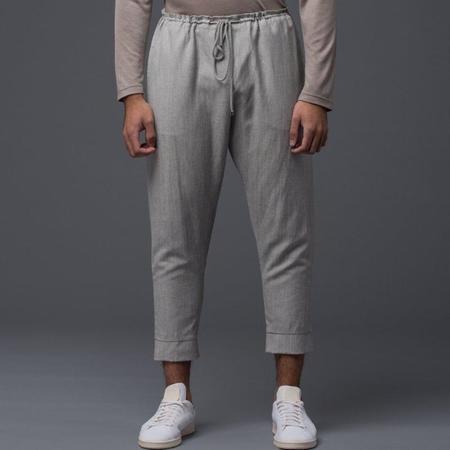 Deveaux Wool Leisure Pant - Grey