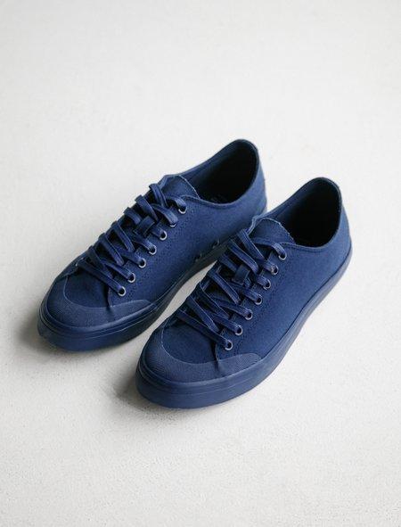 Erik Schedin Canvas Sneaker - Deep Blue