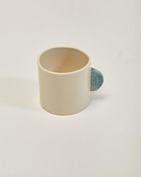 Jacqueline Klassen Ceramic Mug in Blue