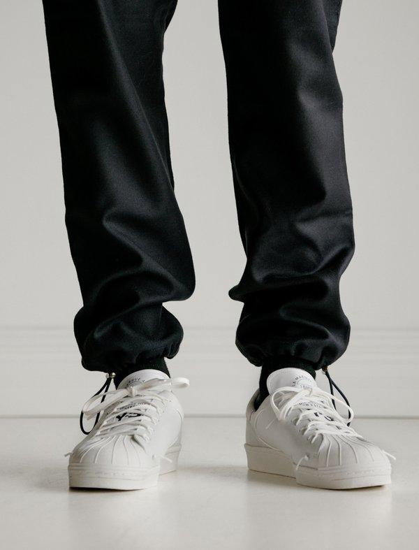 Y-3 Super Knot Sneaker - Core White Core Black  9c1e9b2f8