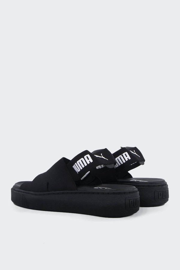 0d11a2e4b878 Puma Womens Platform Sandal - black. sold out. Puma
