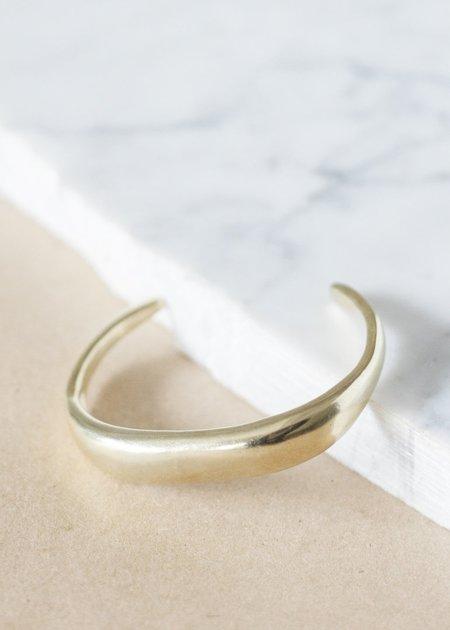 Seaworthy Abrazo Cuff - Brass