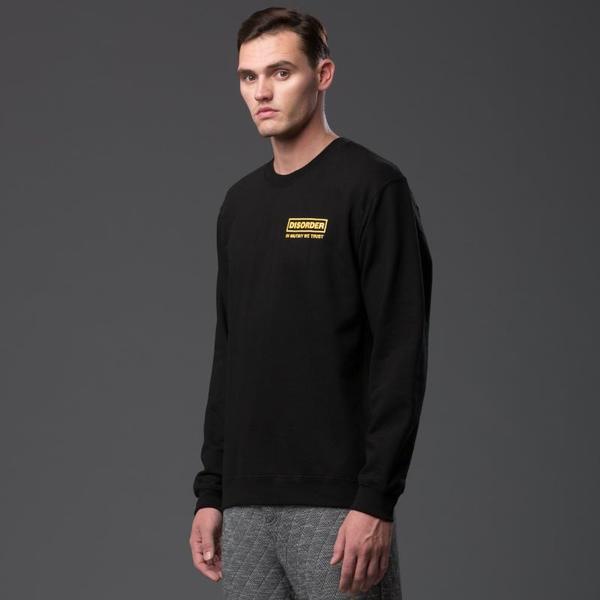 Head of State Disorder Crewneck Sweatshirt - Black