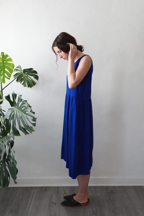 Me & Arrow Tent Dress - Cobalt