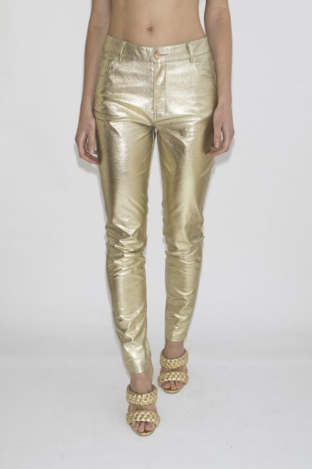 LENNI 'Astral' Jeans –Gold