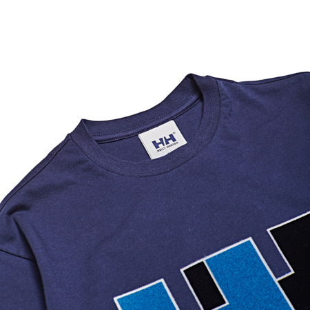 Unisex Helly Hansen HH Logo Tee - Evening Blue