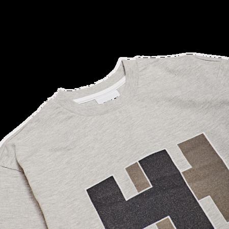 Unisex Helly Hansen HH Logo Tee - Grey Melange