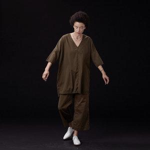 Ali Golden Kimono Tunic