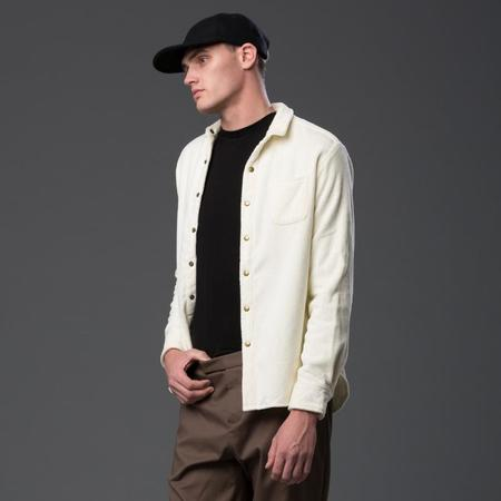 ADAM MAR Montauk Oxford Shirt - Ivory